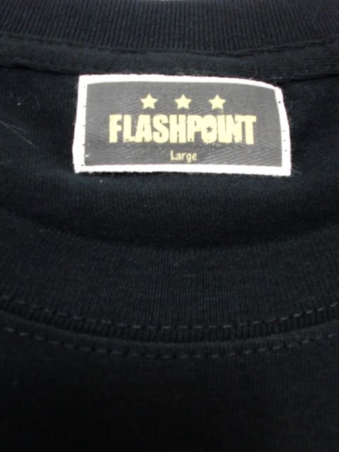 [FLASH POINT] ANALOG LOGO TEE(bk)2