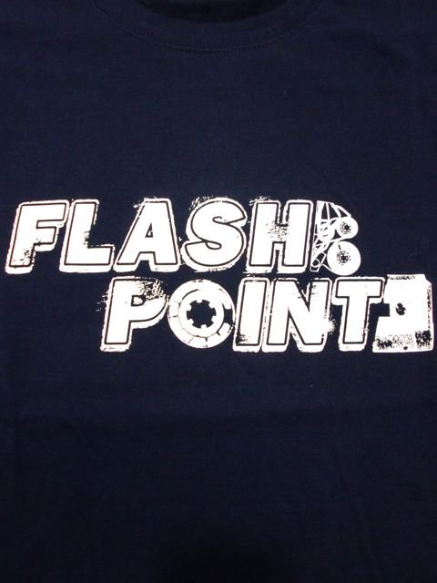 [FLASH POINT] ANALOG LOGO TEE(nv)1