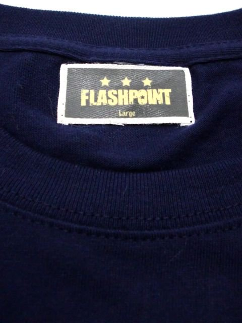 [FLASH POINT] ANALOG LOGO TEE(nv)2