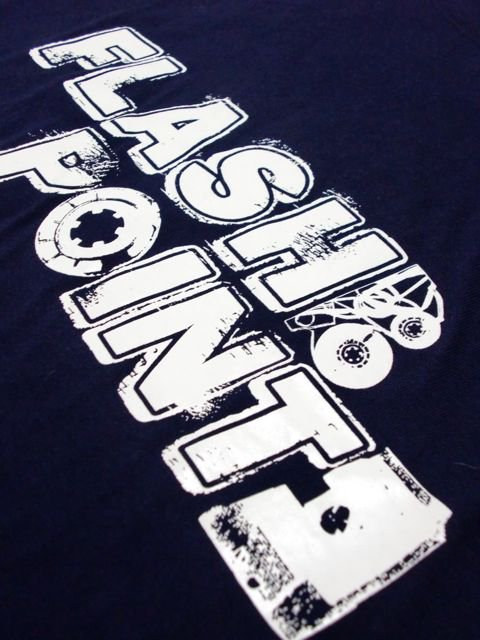 [FLASH POINT] ANALOG LOGO TEE(nv)3