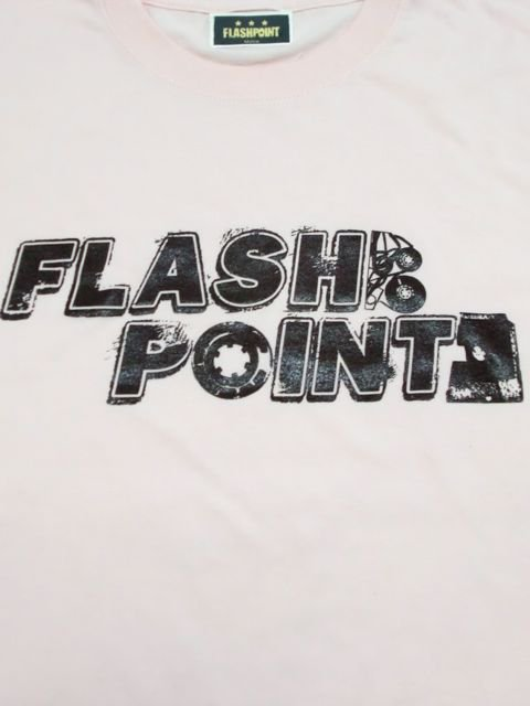 [FLASH POINT] ANALOG LOGO TEE(pk)1