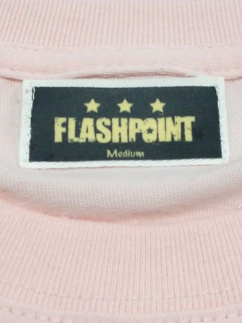 [FLASH POINT] ANALOG LOGO TEE(pk)2