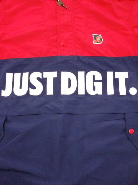 [MANIC DEE] JUST DIG IT. HALF ZIP HOODY JACKET(RD)1