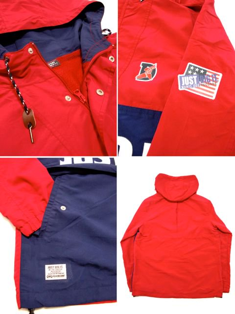 [MANIC DEE] JUST DIG IT. HALF ZIP HOODY JACKET(RD)2