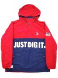 [MANIC DEE] JUST DIG IT. HALF ZIP HOODY JACKET(RD)