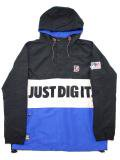 [MANIC DEE] JUST DIG IT. HALF ZIP HOODY JACKET(BK)