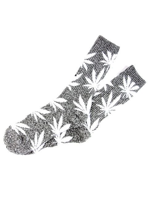 [HUF] PLANTLIFE CREW HEATHER SOCK1