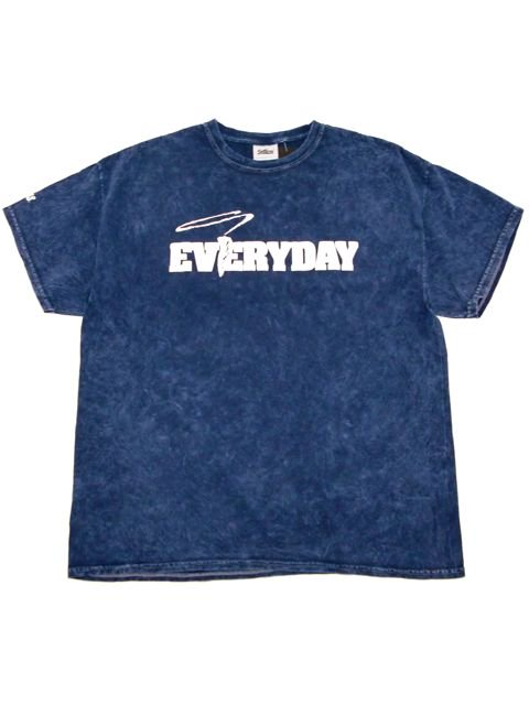 [STILLAS] -SMOKE WEED EVERYDAY-  Chemical Wash T-Shirt