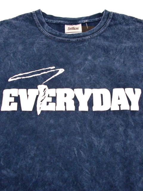 [STILLAS] -SMOKE WEED EVERYDAY-  Chemical Wash T-Shirt1