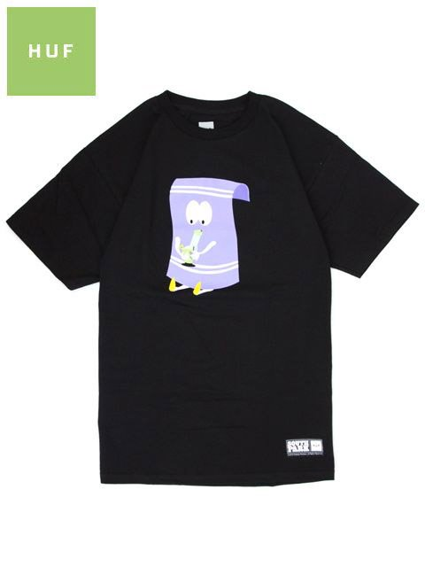 [HUF] SOUTH PARK TOWELIE x HUF TEE 420 Collaboration TEE