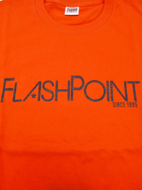 [FLASH POINT] NEW LOGO TEE(OR)1