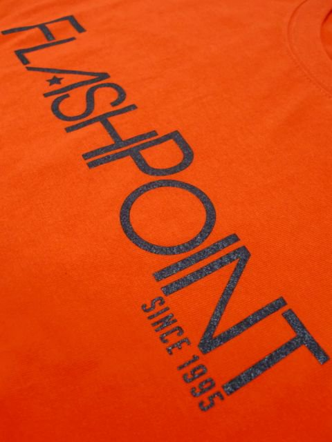 [FLASH POINT] NEW LOGO TEE(OR)3