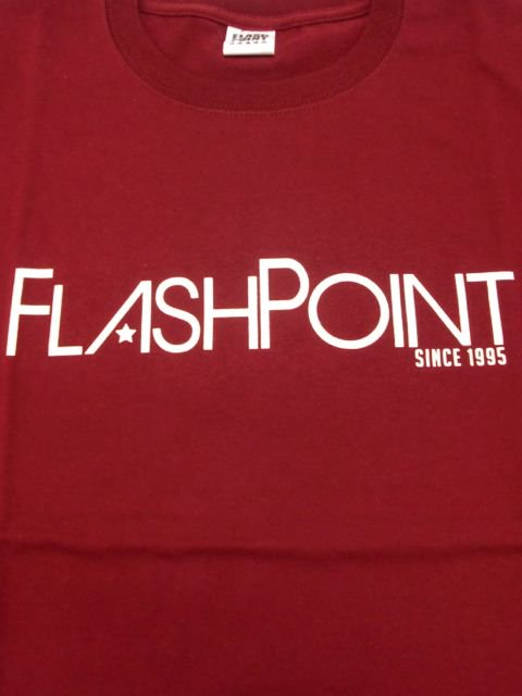 [FLASH POINT] NEW LOGO TEE(BG)1