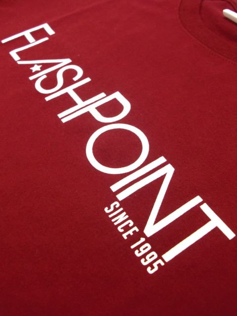 [FLASH POINT] NEW LOGO TEE(BG)3