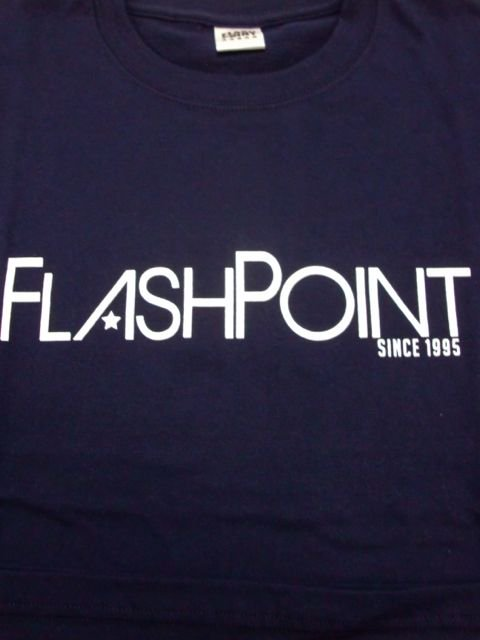 [FLASH POINT] NEW LOGO TEE(NV)1