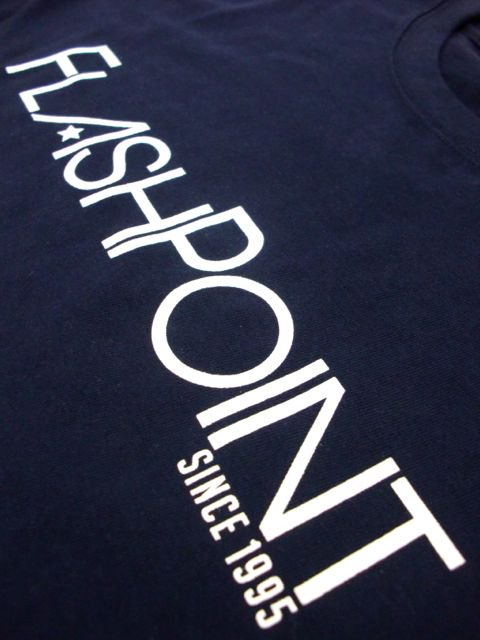 [FLASH POINT] NEW LOGO TEE(NV)3