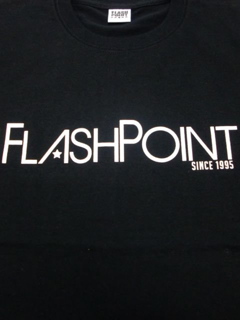[FLASH POINT] NEW LOGO TEE(BK)1