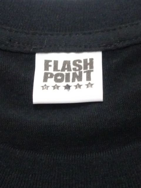 [FLASH POINT] NEW LOGO TEE(BK)2