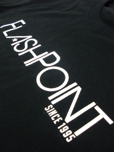 [FLASH POINT] NEW LOGO TEE(BK)3