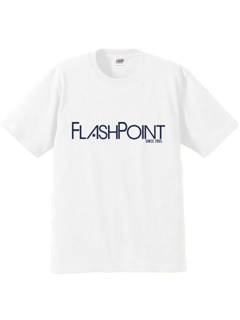 [FLASH POINT] NEW LOGO TEE(WH)