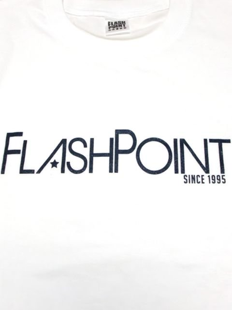 [FLASH POINT] NEW LOGO TEE(WH)1