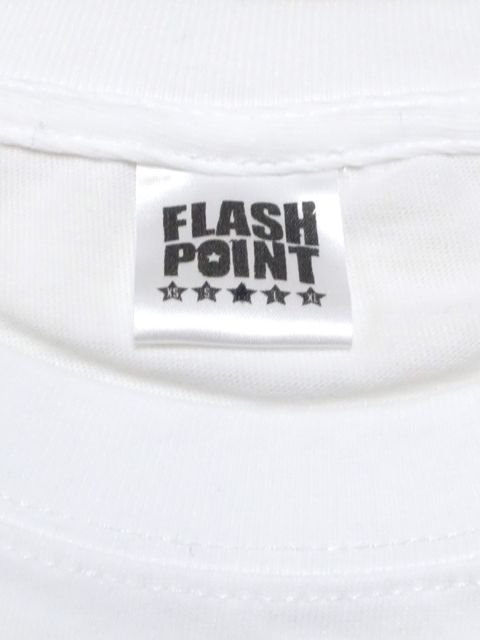[FLASH POINT] NEW LOGO TEE(WH)2