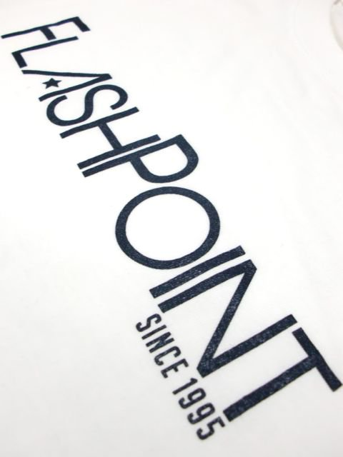[FLASH POINT] NEW LOGO TEE(WH)3