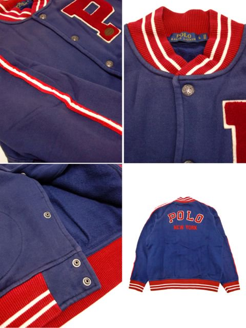 [POLO Ralph Lauren] LS Solid Fleece BaseBall Jacket3