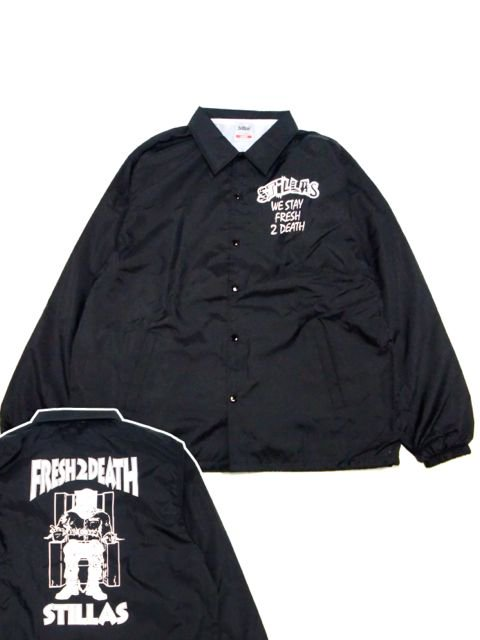 [STILLAS] -FRESH 2 DEATH- Coach Jacket
