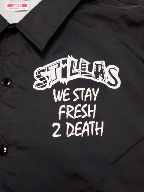 [STILLAS] -FRESH 2 DEATH- Coach Jacket1