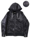 [ZEPHYREN] LEATHER HOODY-Resolve-
