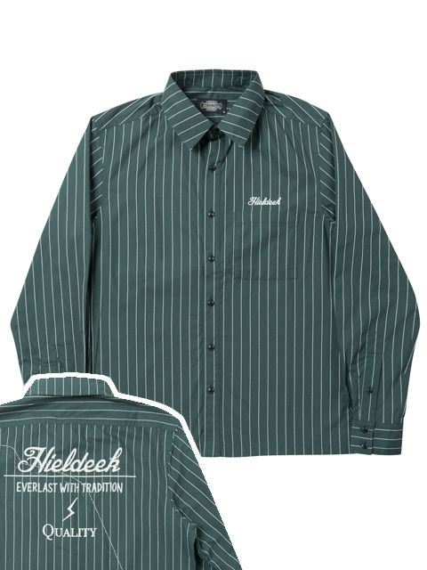 [HiLDK] STRIPE SHIRT L/S -EVERLAST WITH TRADITION-