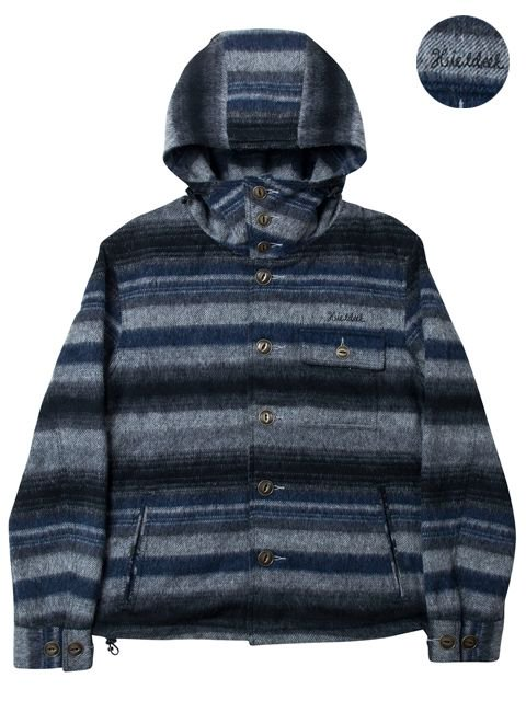 [HiLDK] MEXICAN BORDER HOODY -broadway-