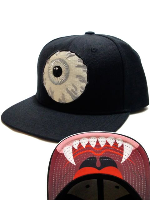 [MISHKA] GLOW IN THE DARK KEEP WATCH SNAPBACK
