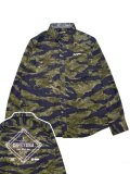 [ZEPHYREN] CAMOUFLAGE SHIRT L/S -Charmed SQ Tone-