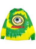 [MISHKA] SICK SAD KEEP WATCH L/S TIE DYE TEE
