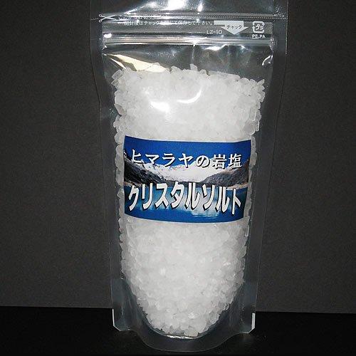 クリスタルソルト 粗塩 ミル器の詰め替え用です。