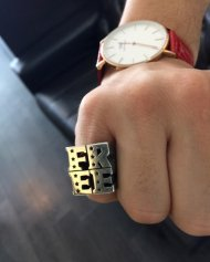 M/FREE ring(BELIENEINMIRACLE��M)<img class='new_mark_img2' src='http://www.arcdeux.com/img/new/icons1.gif' style='border:none;display:inline;margin:0px;padding:0px;width:auto;' />