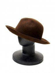 Junhashimoto/TRAVEL HAT(BROWN)<img class='new_mark_img2' src='https://img.shop-pro.jp/img/new/icons1.gif' style='border:none;display:inline;margin:0px;padding:0px;width:auto;' />