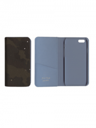"iPhone case ""book type BLUE"" with NaNa-NaNa<img class='new_mark_img2' src='//img.shop-pro.jp/img/new/icons1.gif' style='border:none;display:inline;margin:0px;padding:0px;width:auto;' />"