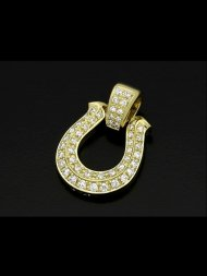 【受注生産】S.O.S/ Horseshoe XL Pendant Premium - K18Yellow Gold w/Diamond<img class='new_mark_img2' src='https://img.shop-pro.jp/img/new/icons1.gif' style='border:none;display:inline;margin:0px;padding:0px;width:auto;' />