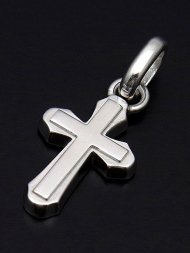 【S.O.S】Smooth Cross Pendant - Silver<img class='new_mark_img2' src='//img.shop-pro.jp/img/new/icons1.gif' style='border:none;display:inline;margin:0px;padding:0px;width:auto;' />