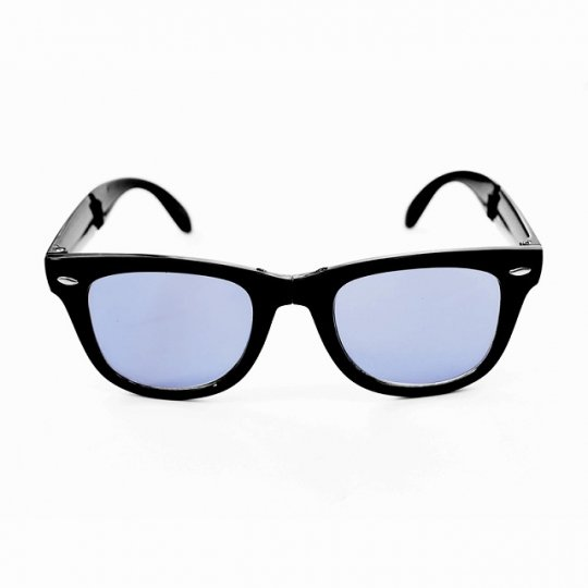 BUENA VISTA×Marbles/FOLDING SUNGLASS(BLACK×BLUE)