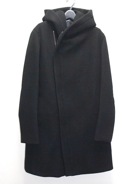 junhashimoto/WRAP COAT(black)