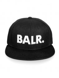 BALR./BRAND COTTON CAP BLACK<img class='new_mark_img2' src='https://img.shop-pro.jp/img/new/icons1.gif' style='border:none;display:inline;margin:0px;padding:0px;width:auto;' />