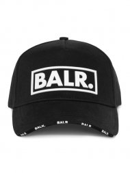 BALR./Classic Box Logo Cap Black<img class='new_mark_img2' src='https://img.shop-pro.jp/img/new/icons55.gif' style='border:none;display:inline;margin:0px;padding:0px;width:auto;' />