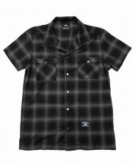 (予約)TMT/RAYON TWILL OMBRE CHECK S/SL SHIRTS(BLACK)期日:3/25 19時まで<img class='new_mark_img2' src='//img.shop-pro.jp/img/new/icons1.gif' style='border:none;display:inline;margin:0px;padding:0px;width:auto;' />