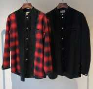 FORSOMEONE先行予約/COMBINATION BAND SHIRT<img class='new_mark_img2' src='https://img.shop-pro.jp/img/new/icons50.gif' style='border:none;display:inline;margin:0px;padding:0px;width:auto;' />