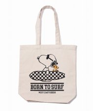 (予約)TMT/PEANUTS×TMT CANVAS TOTEBAG (BORN TO SURF)(IVORY)期日:4/15 19時まで<img class='new_mark_img2' src='https://img.shop-pro.jp/img/new/icons1.gif' style='border:none;display:inline;margin:0px;padding:0px;width:auto;' />