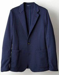 junhashimoto2018AW/JERSEY JACKET(NAVY)<img class='new_mark_img2' src='https://img.shop-pro.jp/img/new/icons24.gif' style='border:none;display:inline;margin:0px;padding:0px;width:auto;' />